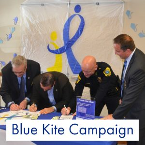 Blue Kite Campaign Child Abuse Prevention