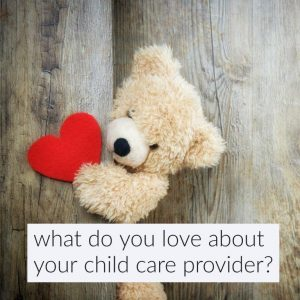 Child Care Provider Appreciation Day