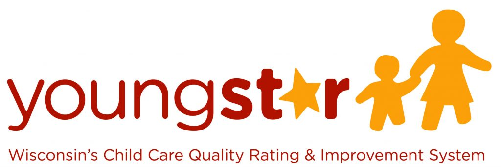 Red and orange YoungStar logo