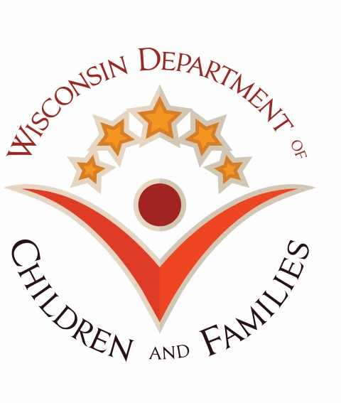 WI Department of Children and Families logo